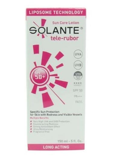 Solante SOLANTE Tele-Rubor SPF 50+ Losyon 150 ml Renksiz